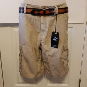 Men's Cargo Shorts Beverly Hills Polo Club Size 30